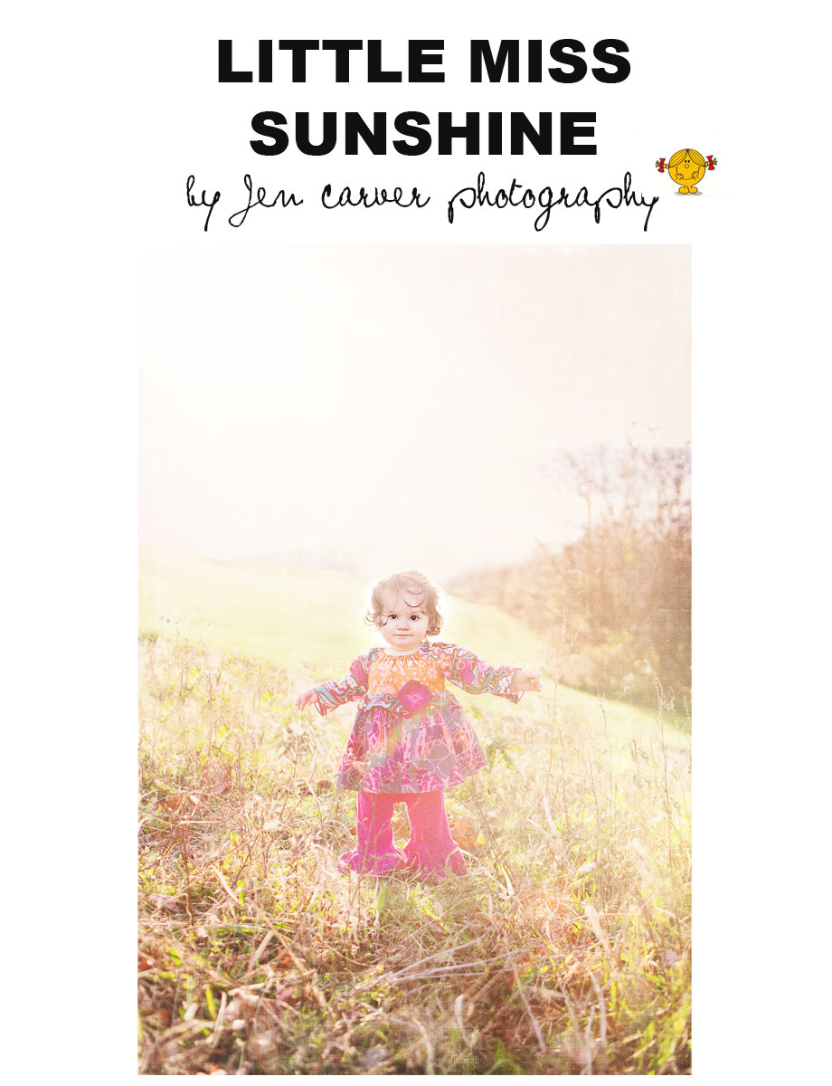 Untitled 2 Little Miss Sunshine | Pittsburgh Child Photographer
